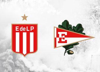 Los dos escudos oficiales del Club Estudiantes de La Plata | Imagen Web Oficial