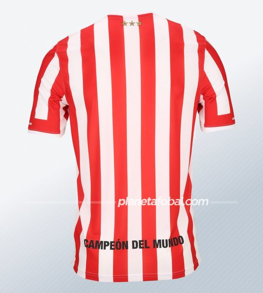 Camiseta titular Under Armour 2020 de Estudiantes de La Plata | Imagen Web Oficial
