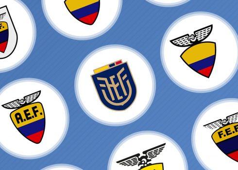 Evolución del logo de la Federación Ecuatoriana de Fútbol