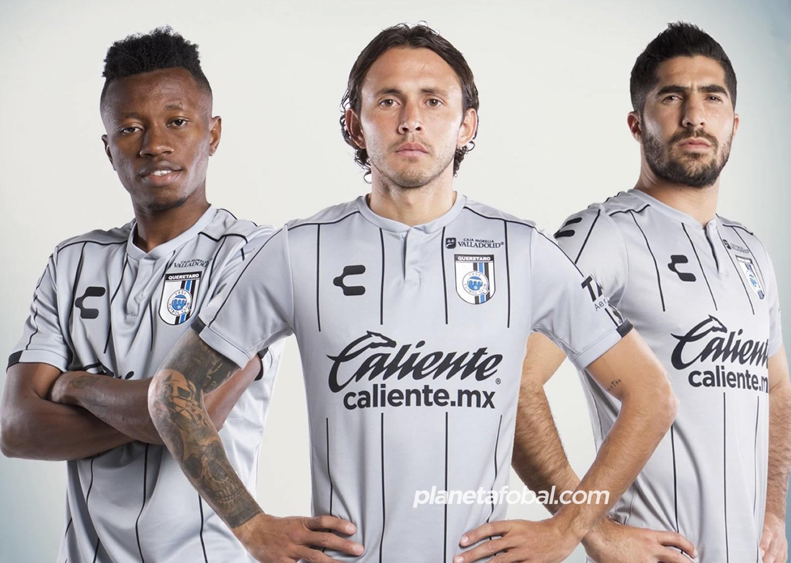 Camiseta visita del Club Querétaro Clausura 2020 | Imagen Charly