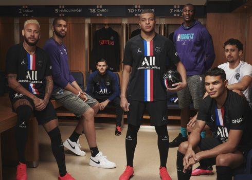 Camiseta Jordan del PSG 2020   Imagen Nike