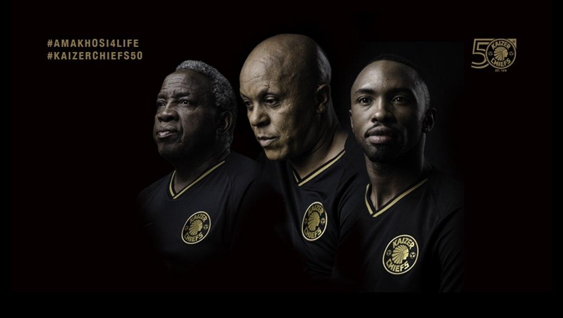 "Camiseta Nike del Kaizer Chiefs ""50 Aniversario"" | Imagen Web Oficial"