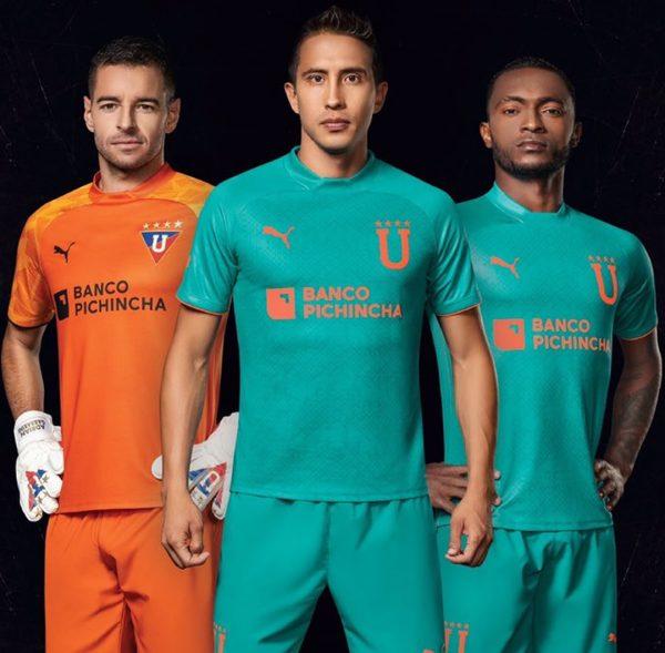 Camiseta alterna Puma de la Liga de Quito 2020 | Imagen Marathon