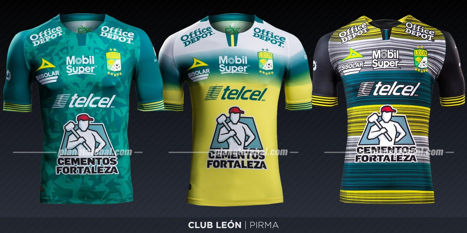 Club León (Pirma) | Camisetas de la Liga MX 2019-2020