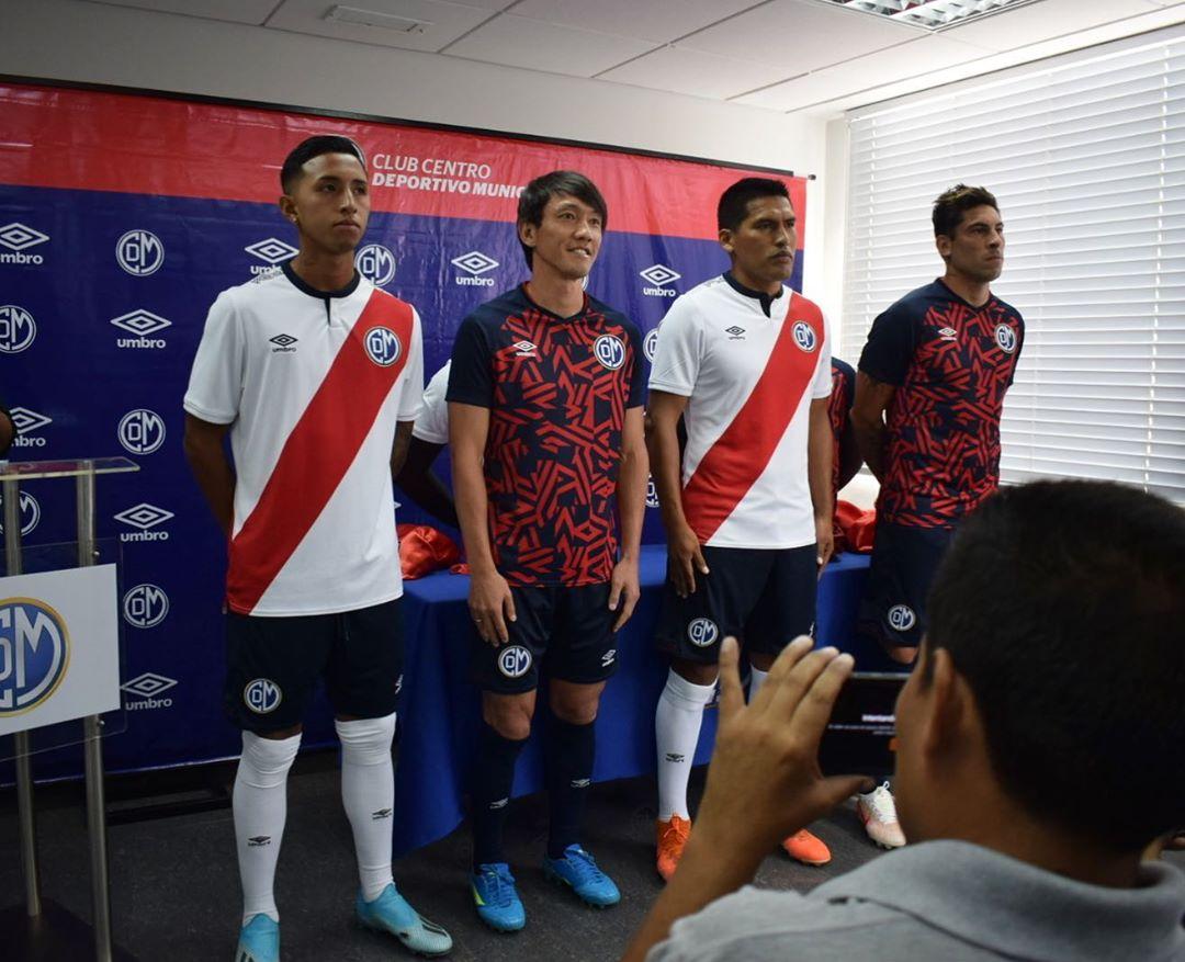 T-shirts 2020 du Deportivo Municipal 2020 | Image Instagram officielle