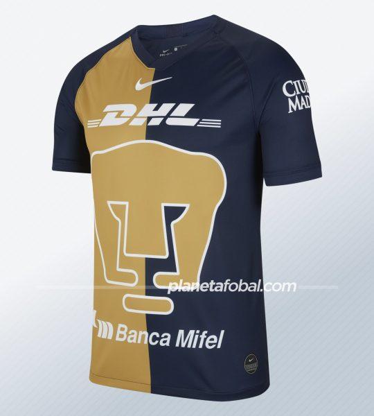 Tercera camiseta de los Pumas de la UNAM 2020 | Imagen Nike