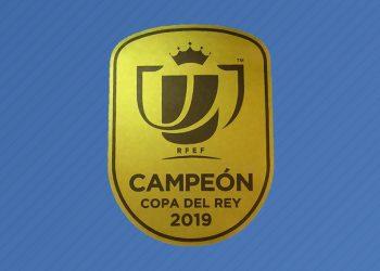Asi luce el parche de campeón de la Copa del Rey | Imagen RFEF