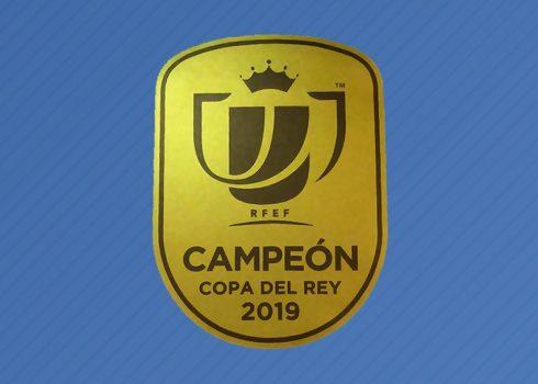 Asi luce el parche de campeón de la Copa del Rey   Imagen RFEF