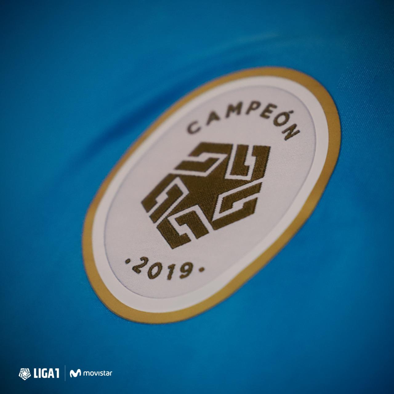 Nuevo parche para el campeón de Liga1 de Perú | Imagen Twitter Oficial