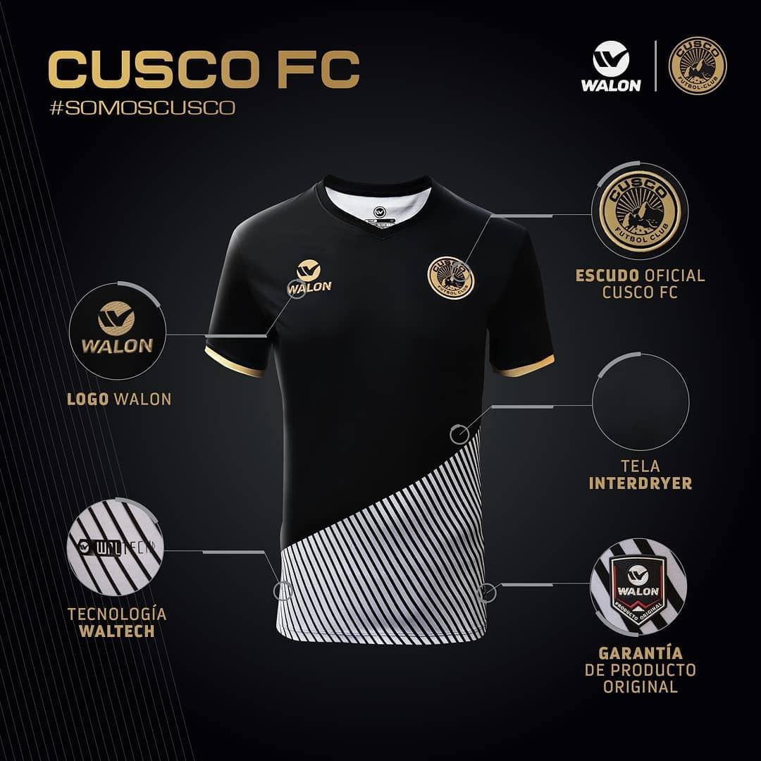 Asi luce la primera camiseta del Cusco FC | Imagen Facebook Oficial