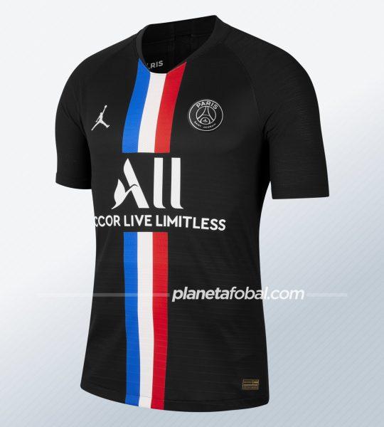 Camiseta Jordan del PSG 2020 | Imagen Nike