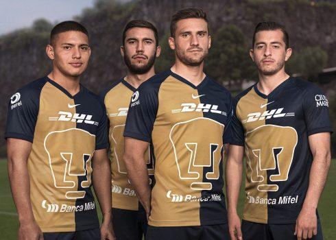 Tercera camiseta Nike de los Pumas de la UNAM 2020 | Imagen Web Oficial