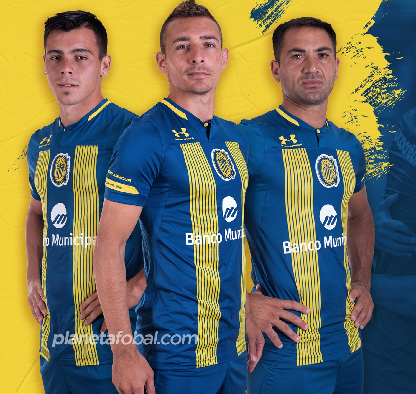 Camiseta Under Armour de Rosario Central 2020 | Imagen Twitter Oficial