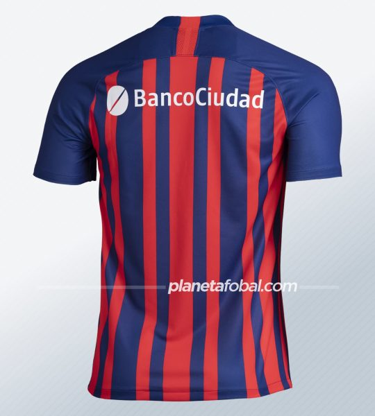 Camiseta titular Nike de San Lorenzo 2020 | Imagen Web Oficial