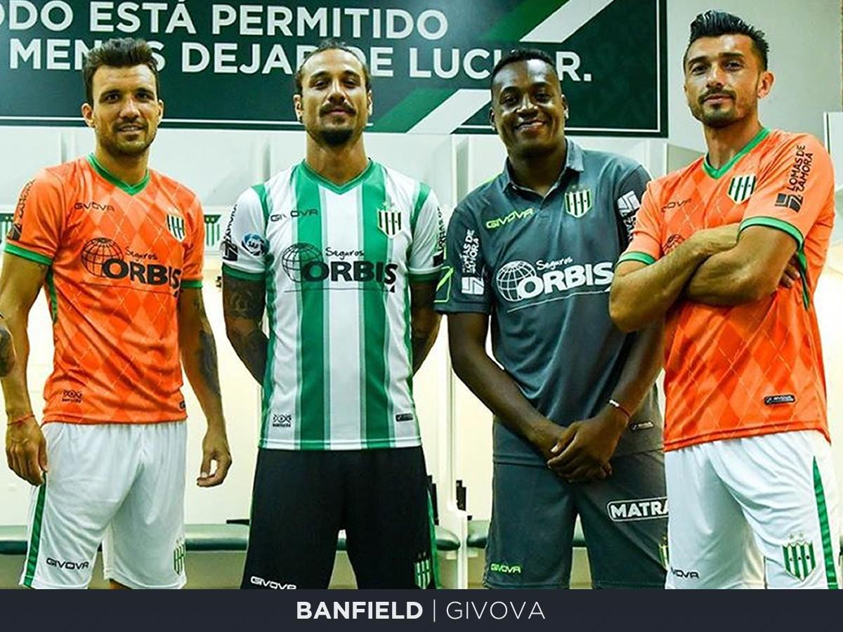 Banfield  (Givova) | Camisetas de la Superliga 2019/20
