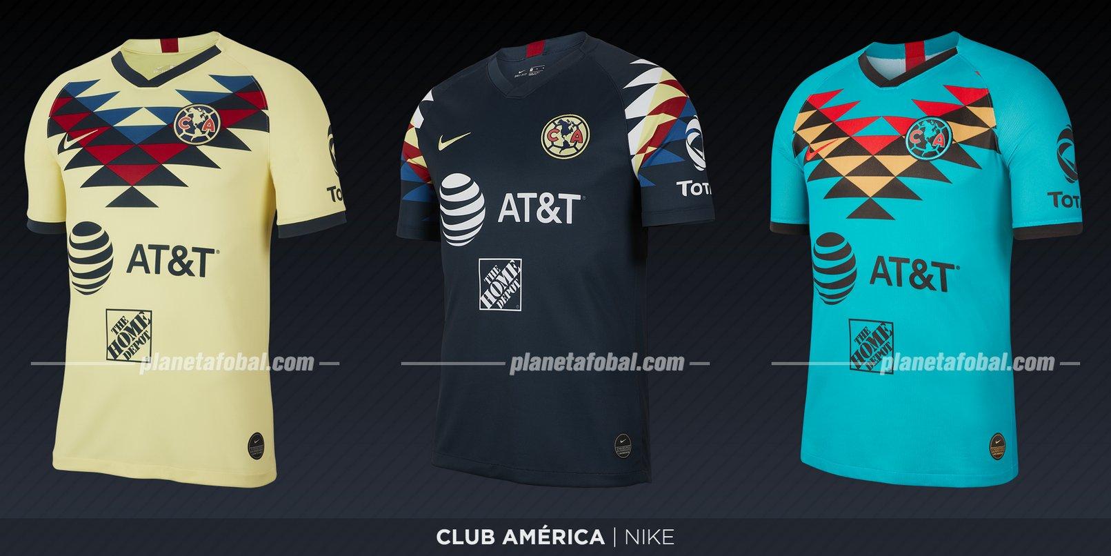 Club América (Nike) | Camisetas de la Liga MX 2019-2020