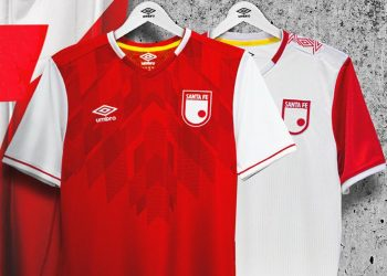 Camisetas Umbro de Independiente Santa Fe 2020 | Imagen Twitter Oficial