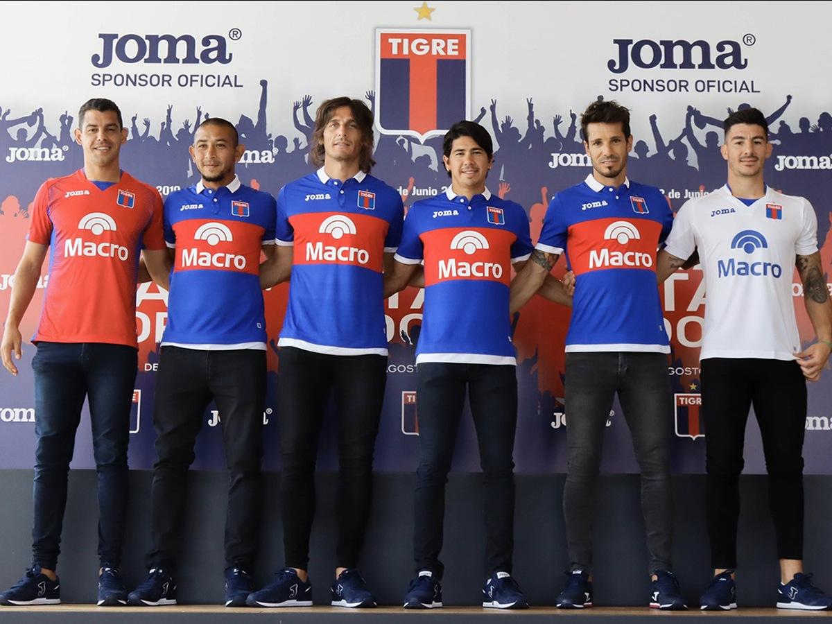 Tigre (Joma) | Camisetas de la Copa Libertadores 2020
