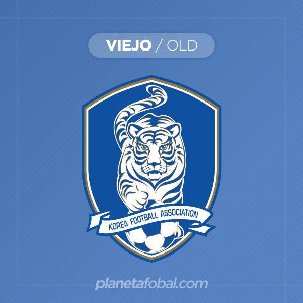 Viejo logo oficial de la Asociación de Fútbol de Corea del Sur | Imagen KFA