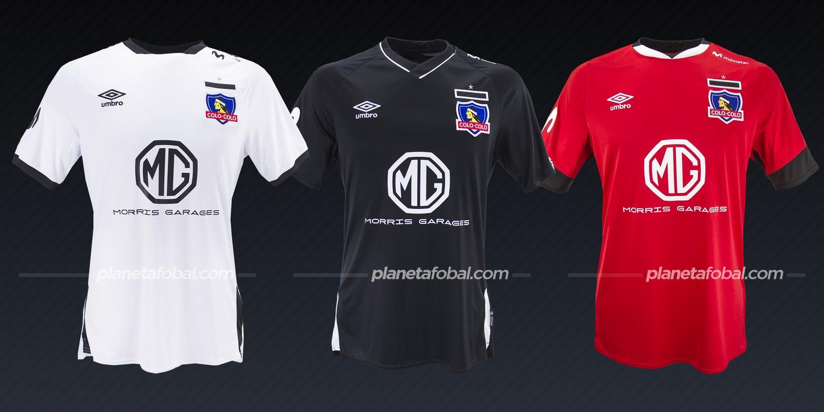 Colo-Colo (Umbro) | Camisetas de la Copa Libertadores 2020