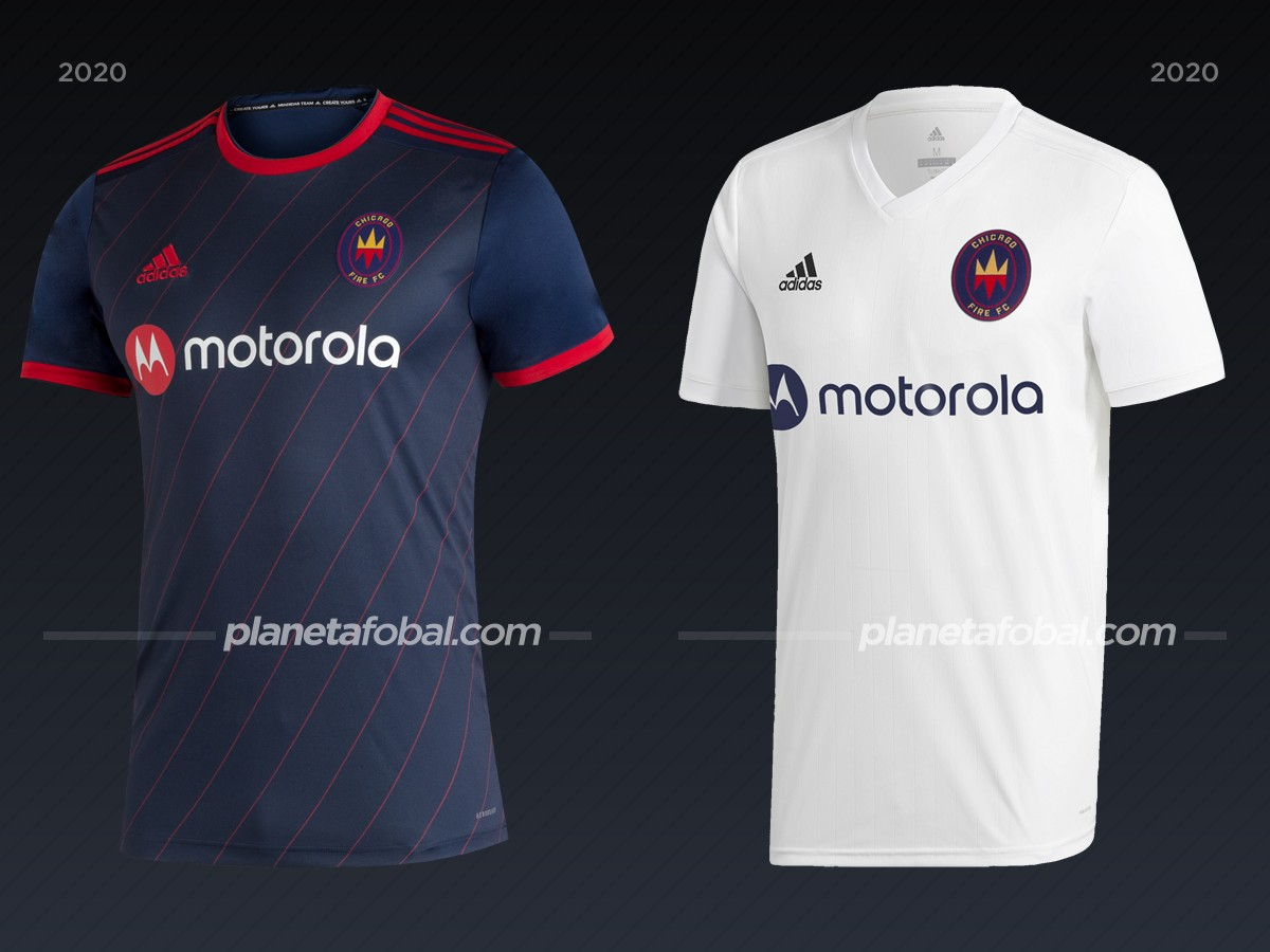Chicago Fire | Camisetas de la MLS 2020