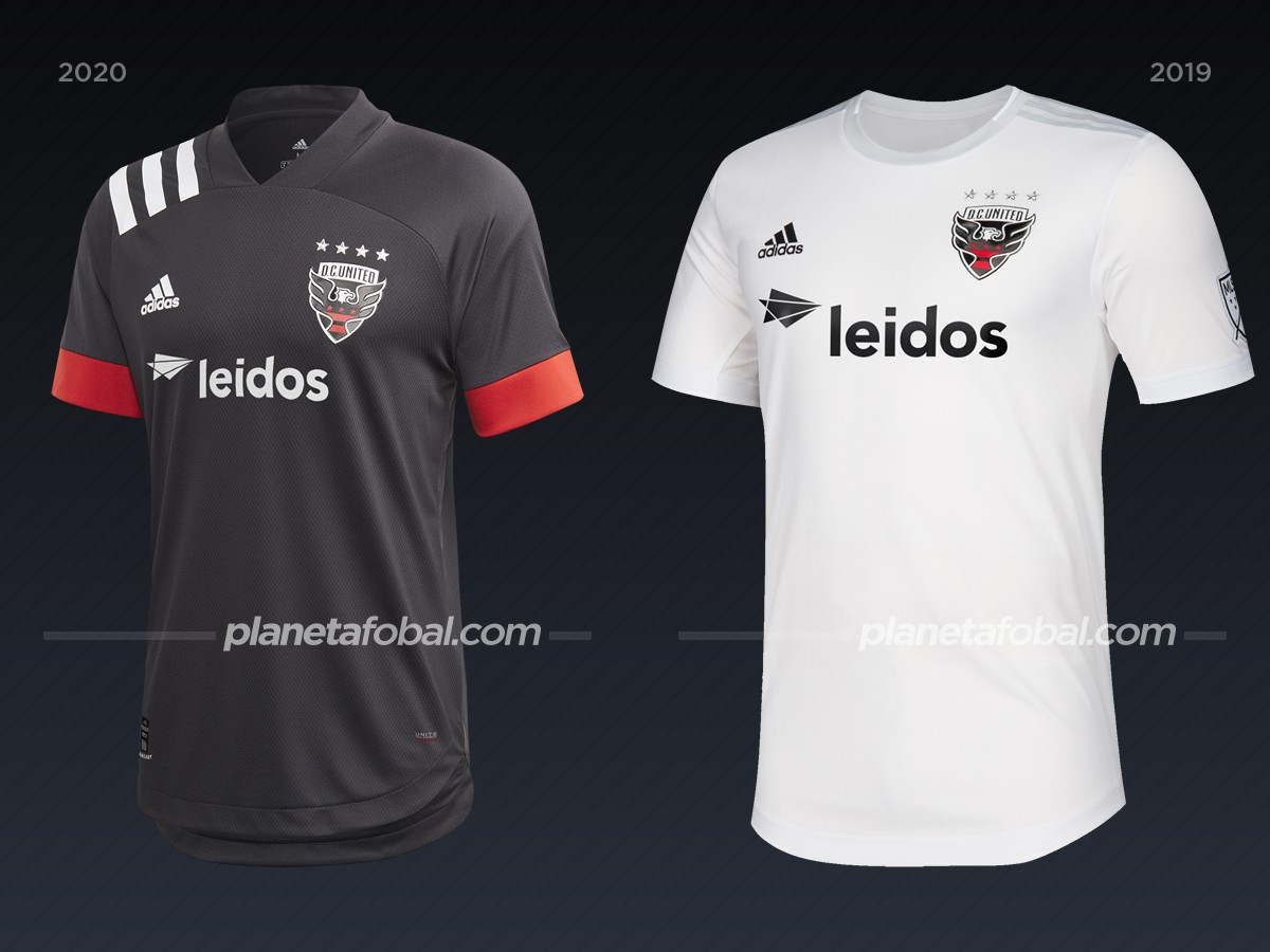 D.C. United | Camisetas de la MLS 2020