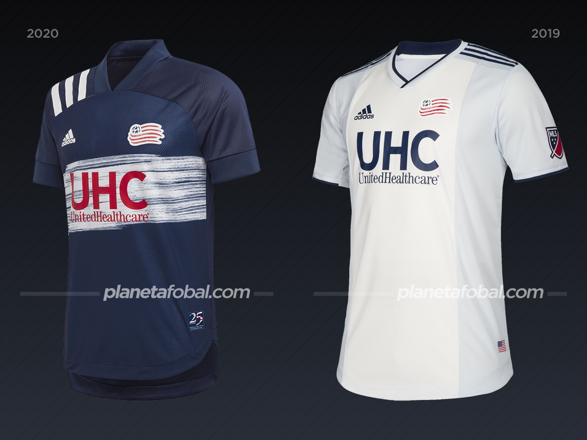 New England Revolution | Camisetas de la MLS 2020
