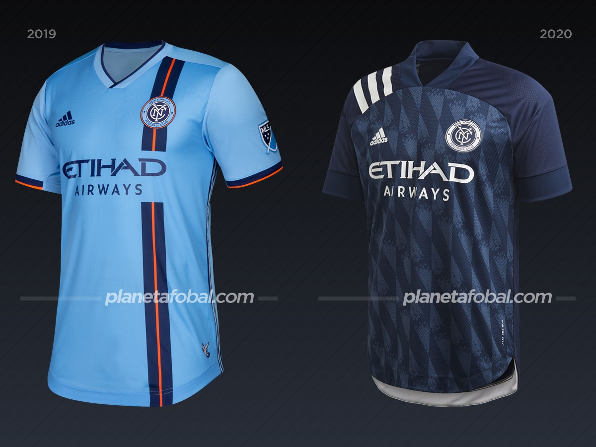 New York City FC | Camisetas de la MLS 2020