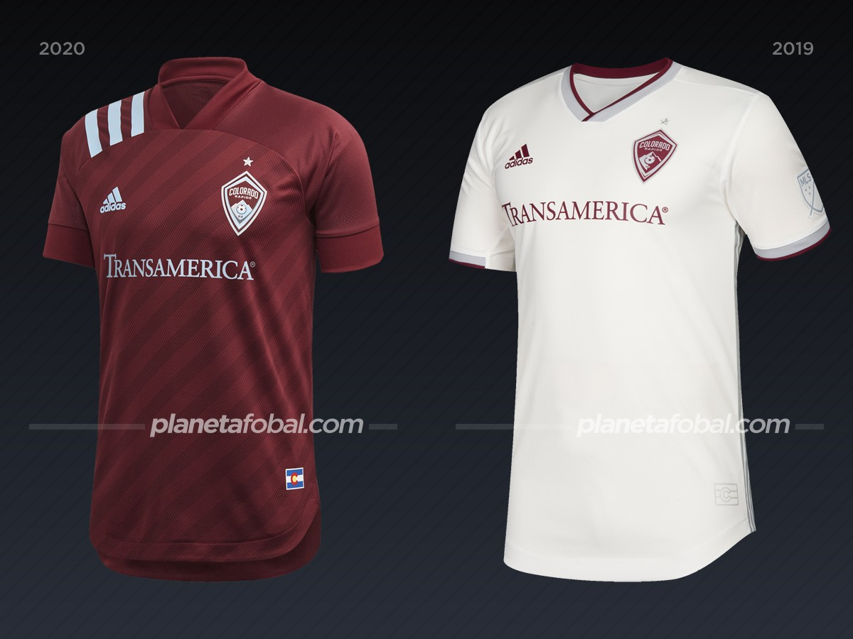 Colorado Rapids | Camisetas de la MLS 2020