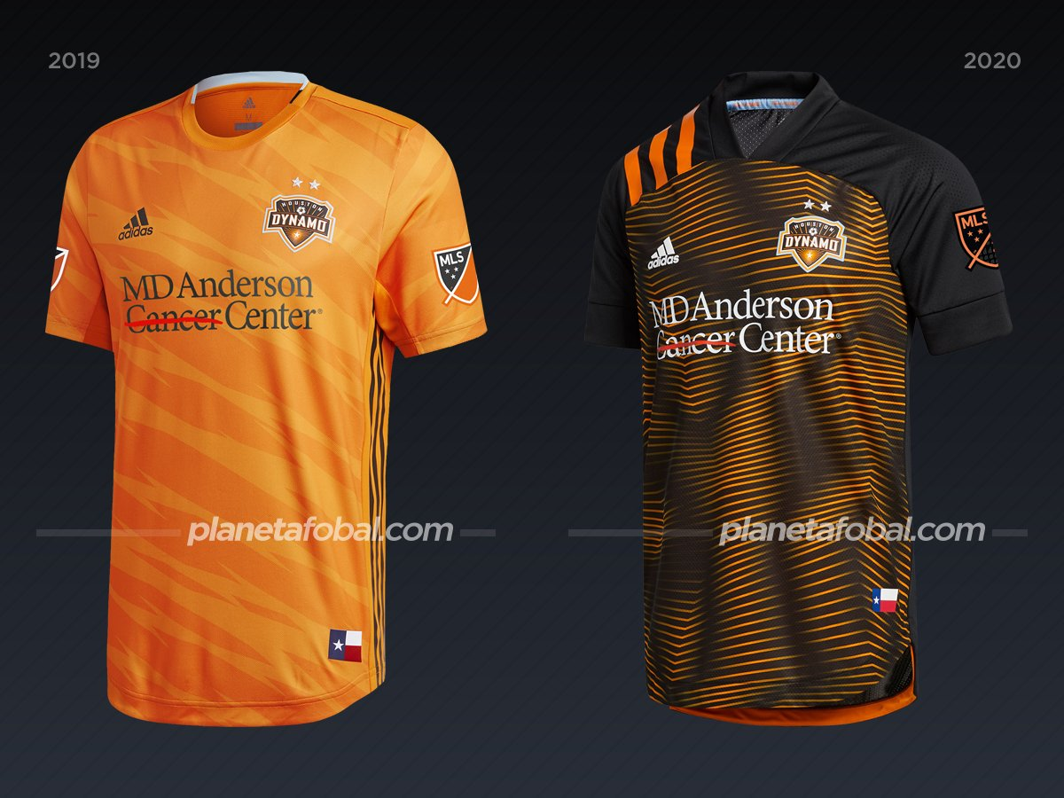 Houston Dynamo | Camisetas de la MLS 2020