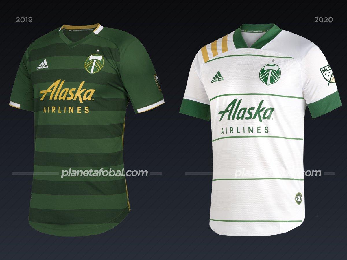 Portland Timbers | Camisetas de la MLS 2020