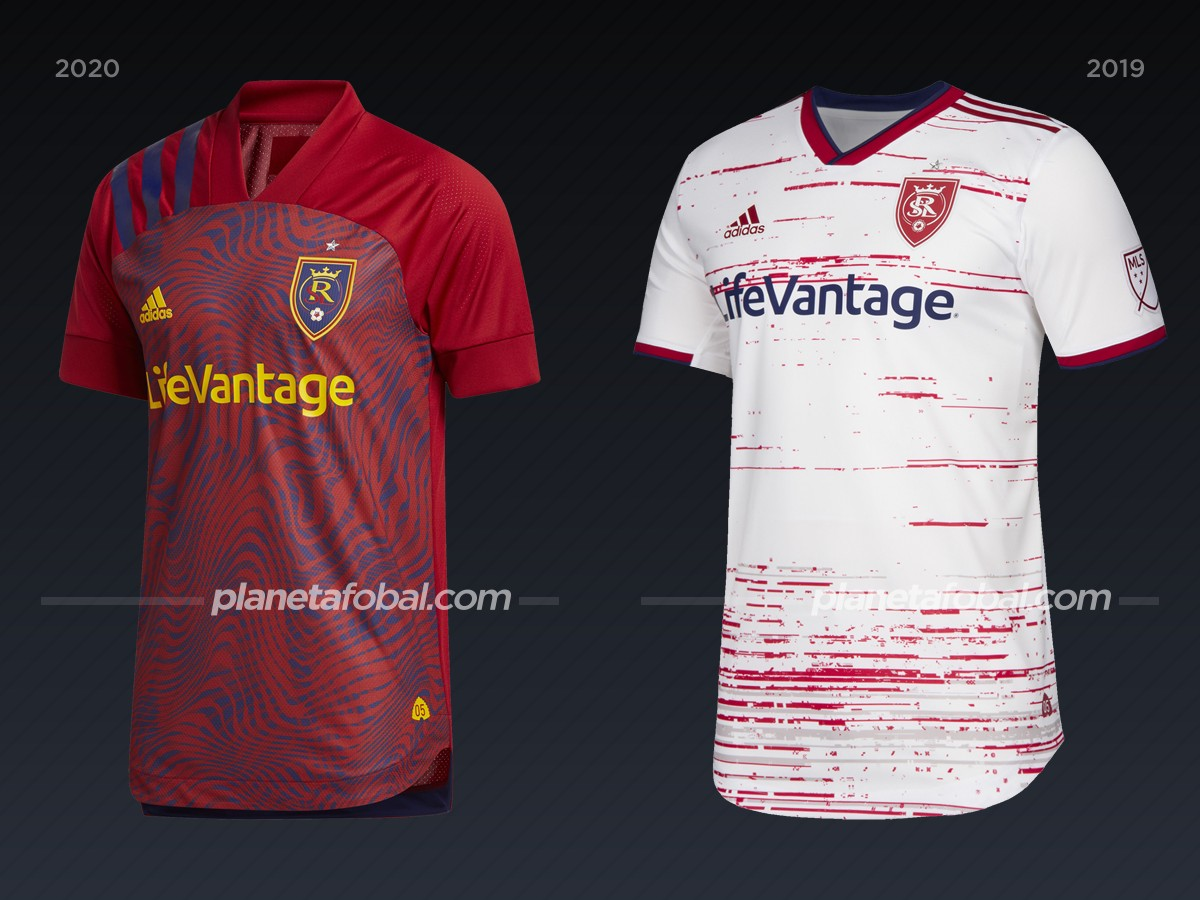 Real Salt Lake | Camisetas de la MLS 2020