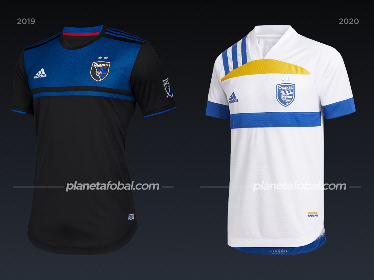 San Jose Earthquakes | Camisetas de la MLS 2020