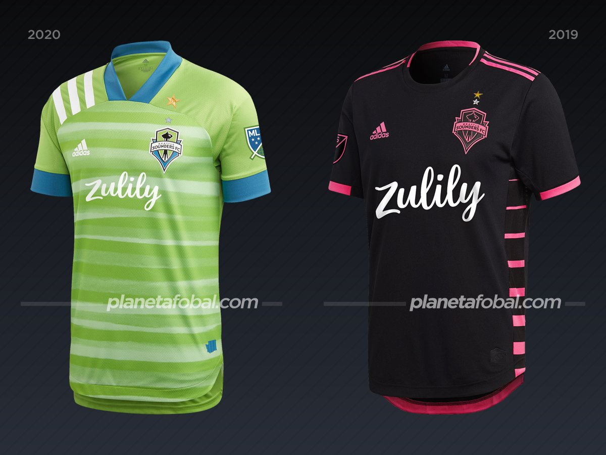 Seattle Sounders | Camisetas de la MLS 2020