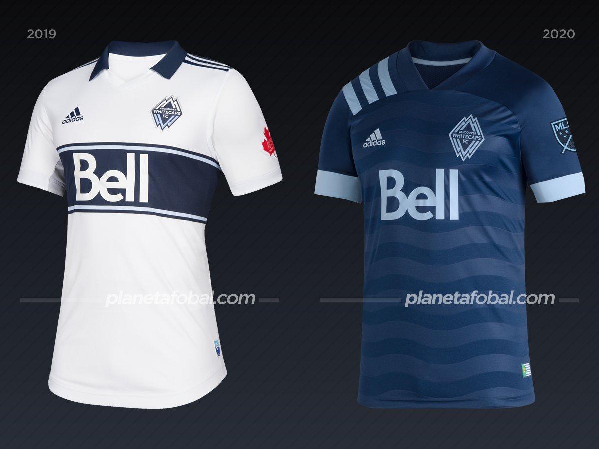 Vancouver Whitecaps | Camisetas de la MLS 2020