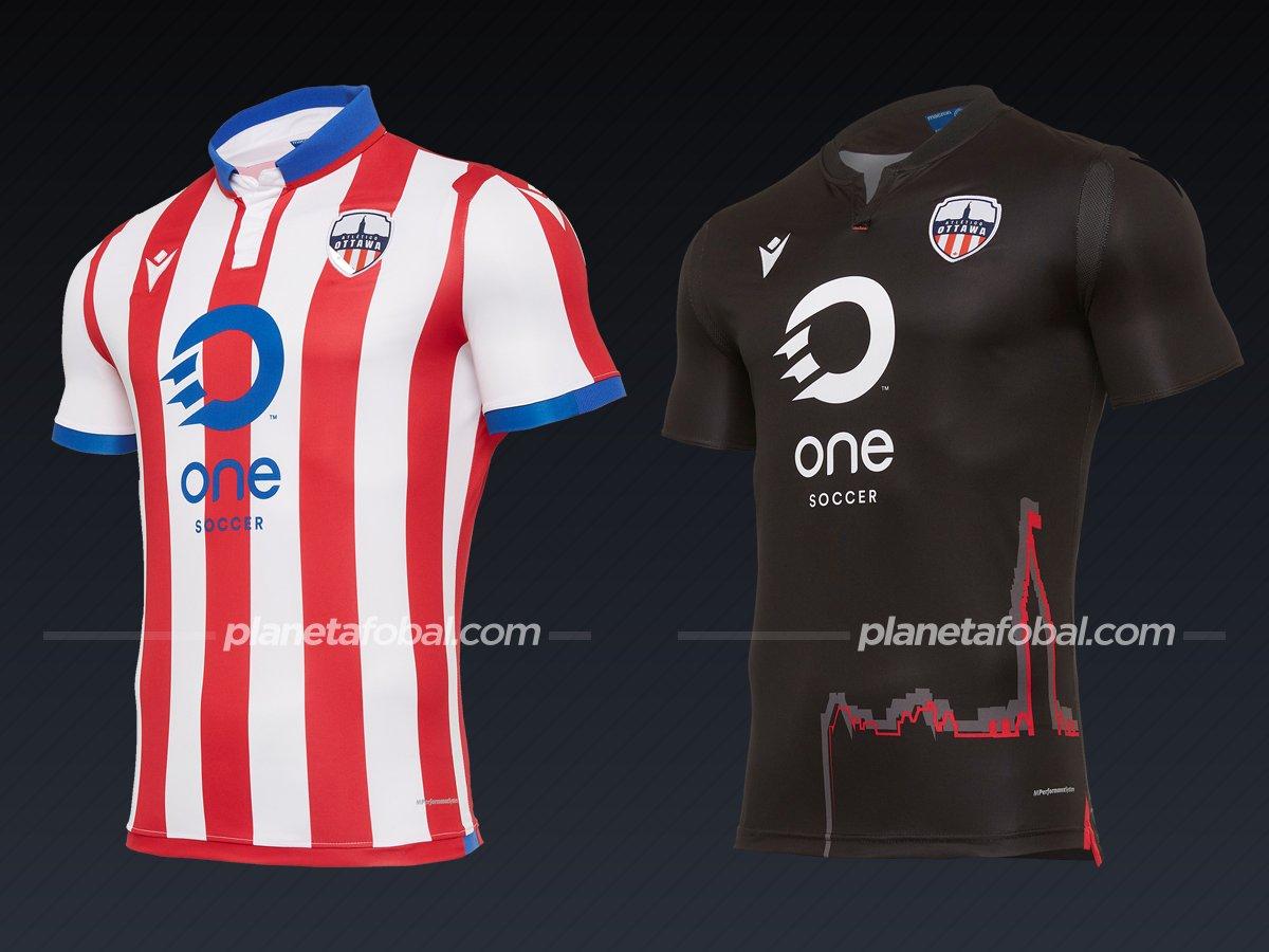 Atlético Ottawa | Camisetas de la Canadian Premier League 2020