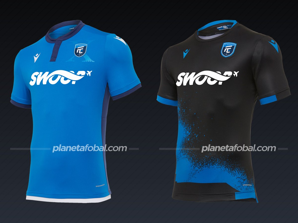 FC Edmonton | Camisetas de la Canadian Premier League 2020