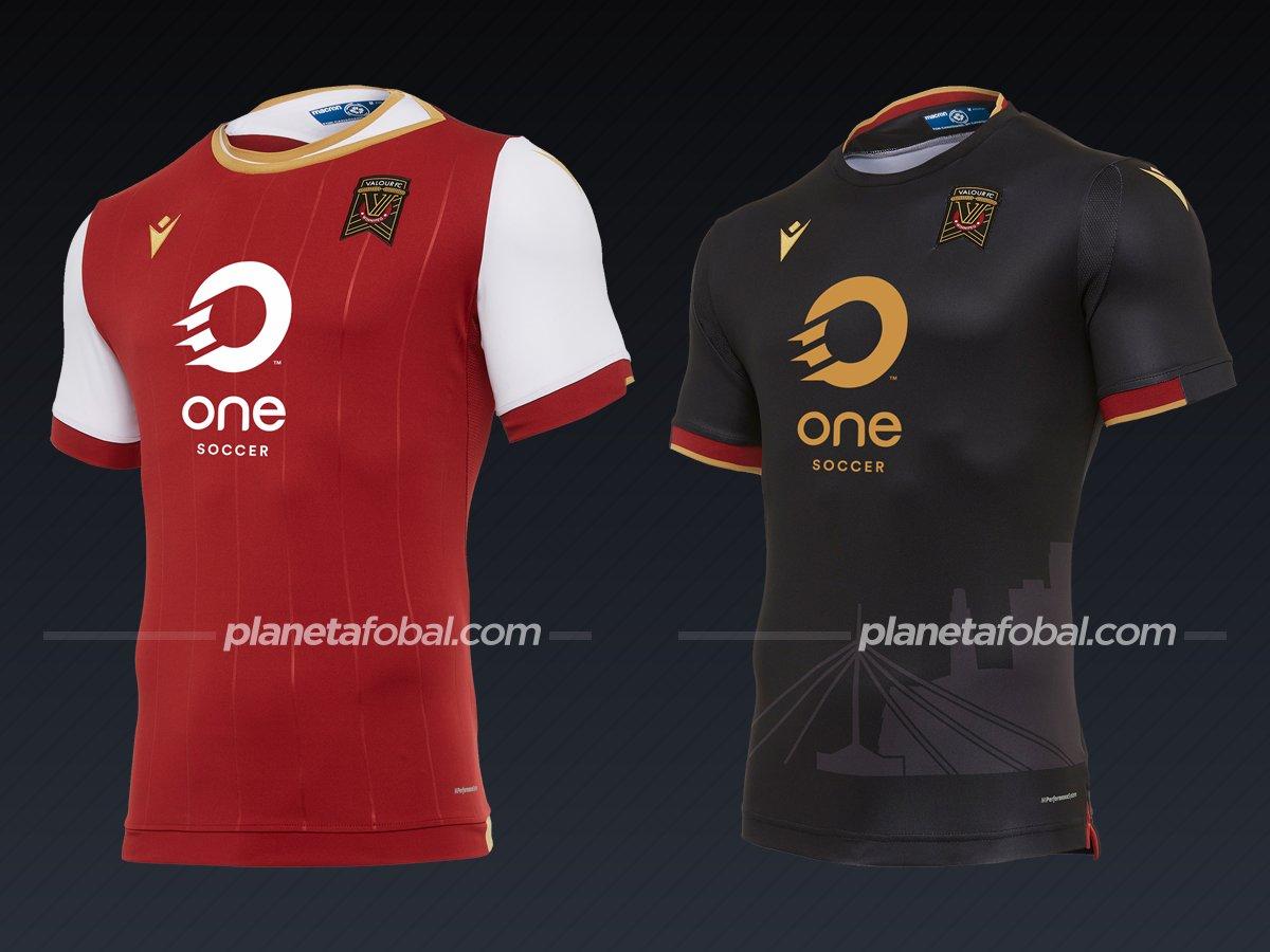 Valour FC | Camisetas de la Canadian Premier League 2020