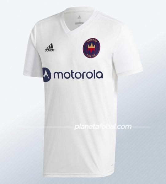Camiseta suplente Adidas del Chicago Fire 2020 | Imagen Web Oficial
