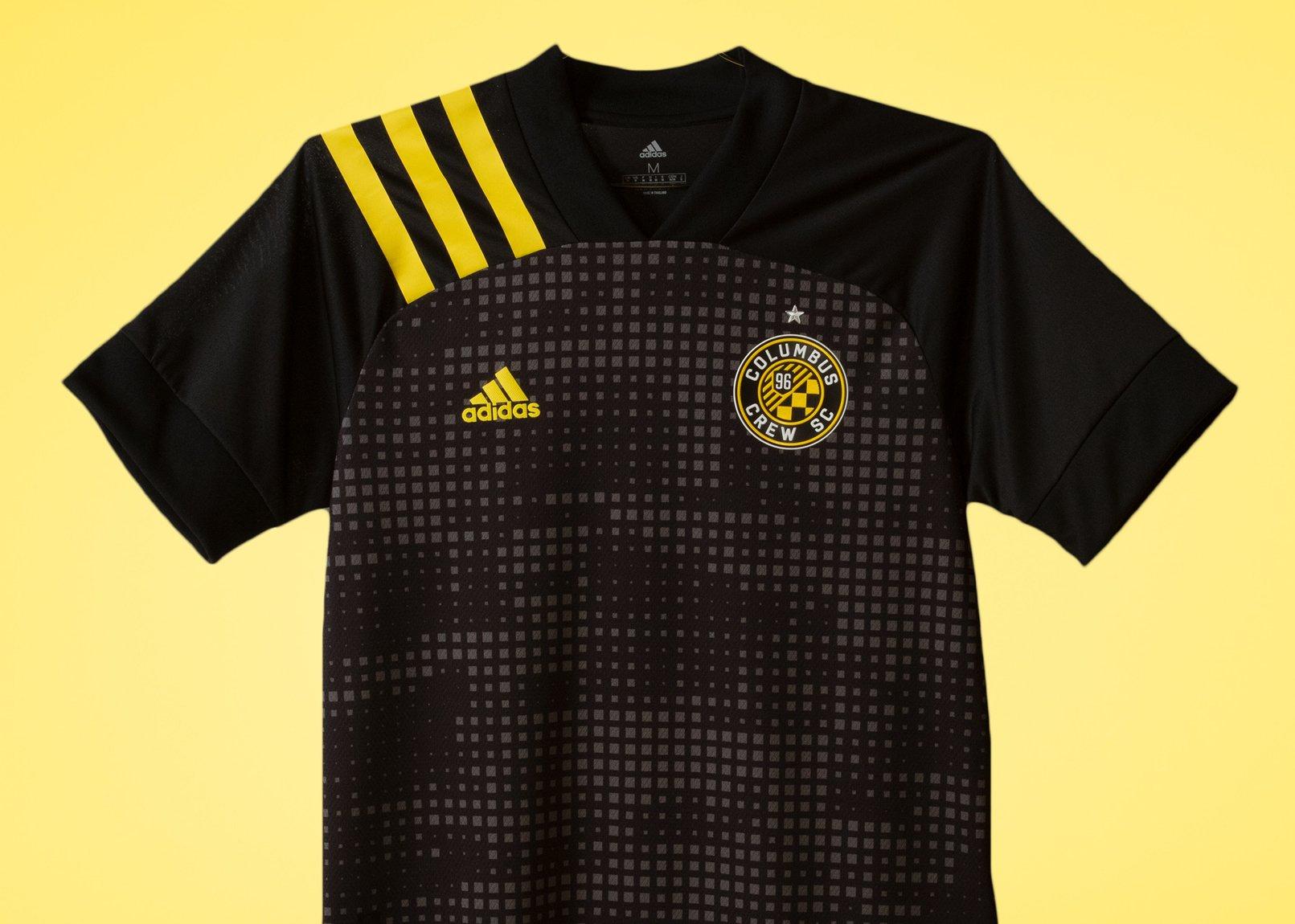 Camiseta suplente Adidas del Columbus Crew 2020/21   Imagen Web Oficial