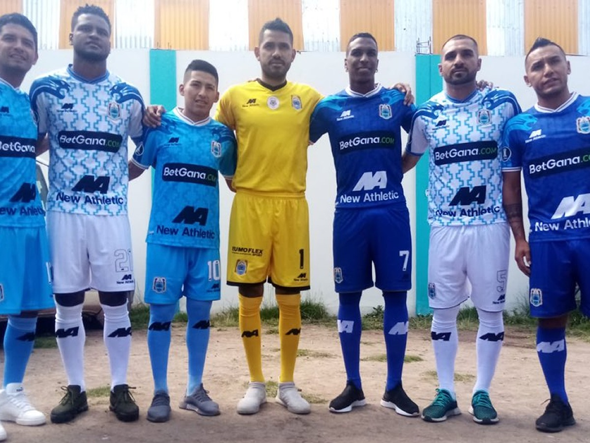 Binacional (New Athletic) | Camisetas de la Copa Libertadores 2020
