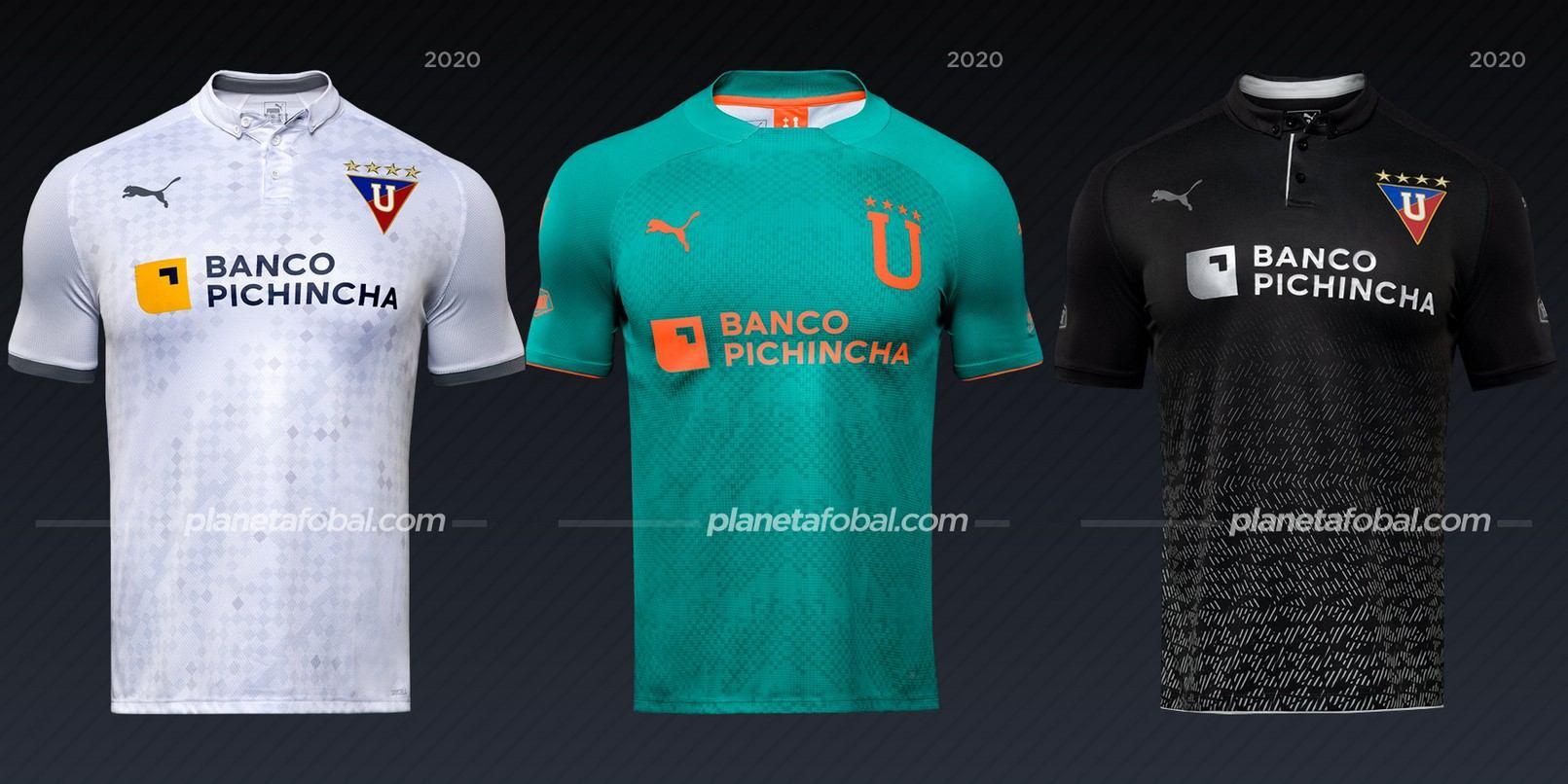 Liga de Quito (Puma) | Camisetas de la Copa Libertadores 2020
