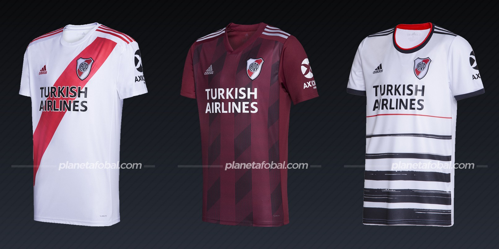 River Plate (Adidas) | Camisetas de la Copa Libertadores 2020