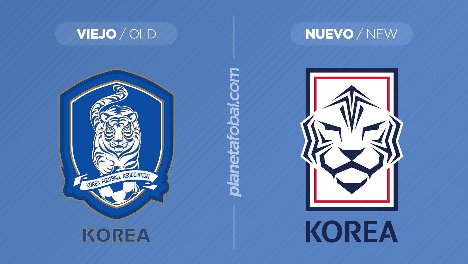Así será el cambio en el escudo oficial | Imágenes KFA