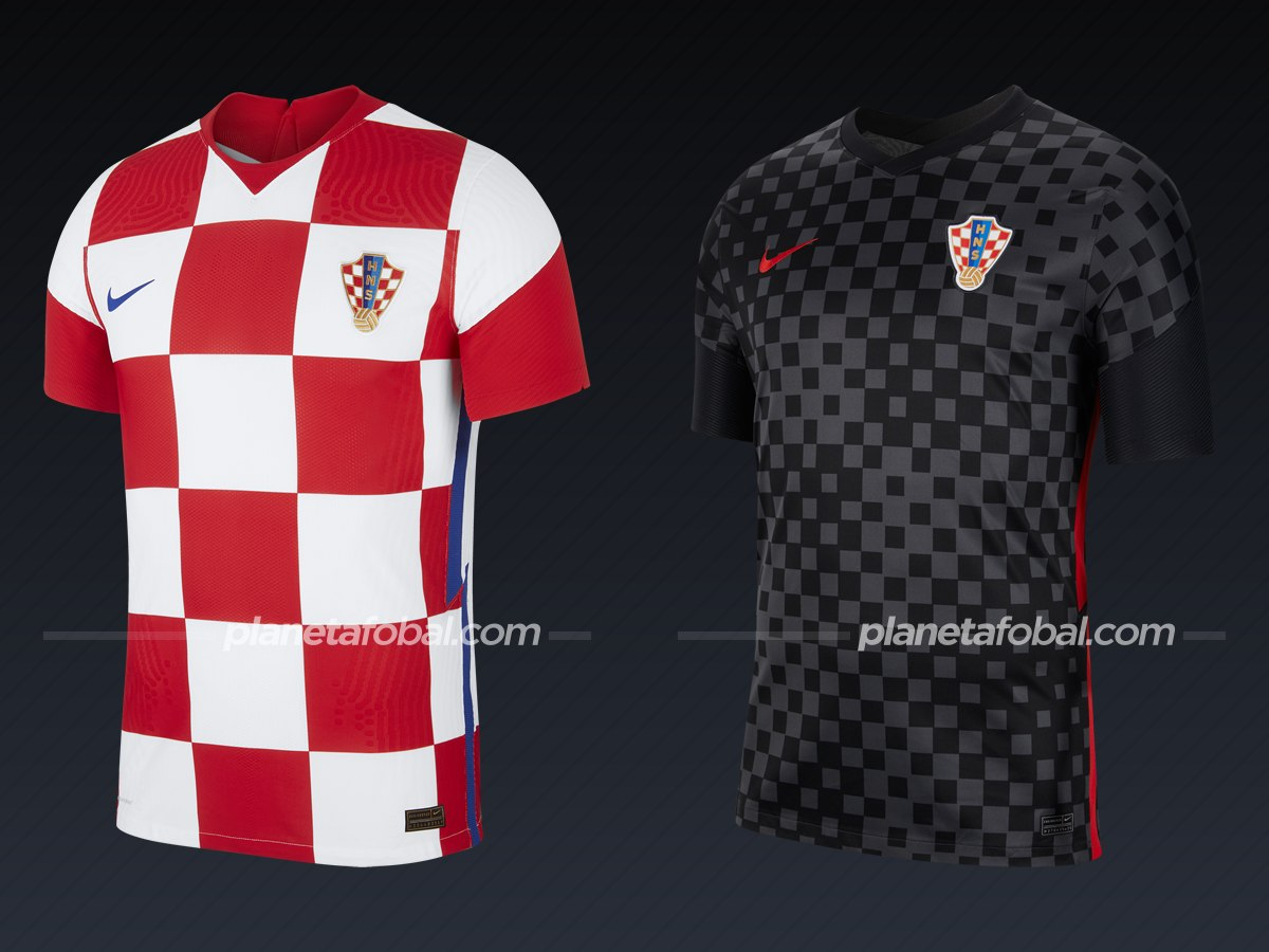 Croacia (Nike)   Camisetas de la Euro 2020
