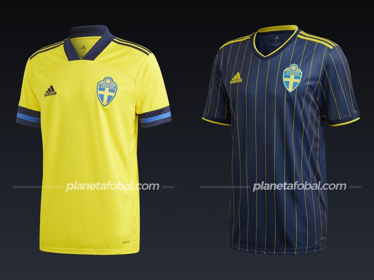 Suecia (Adidas)   Camisetas de la Euro 2020