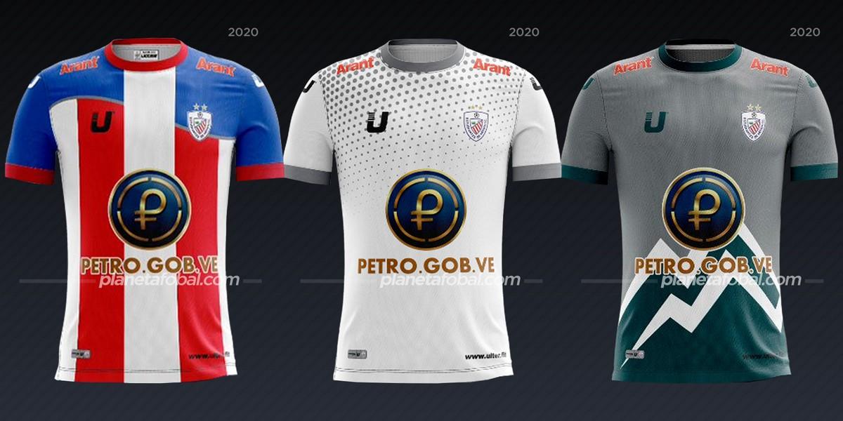 Estudiantes de Mérida (Ulter) | Camisetas de la Copa Libertadores 2020