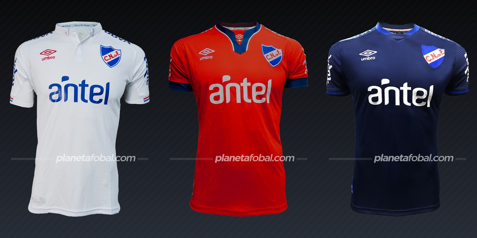 Nacional (Umbro) | Camisetas de la Copa Libertadores 2020