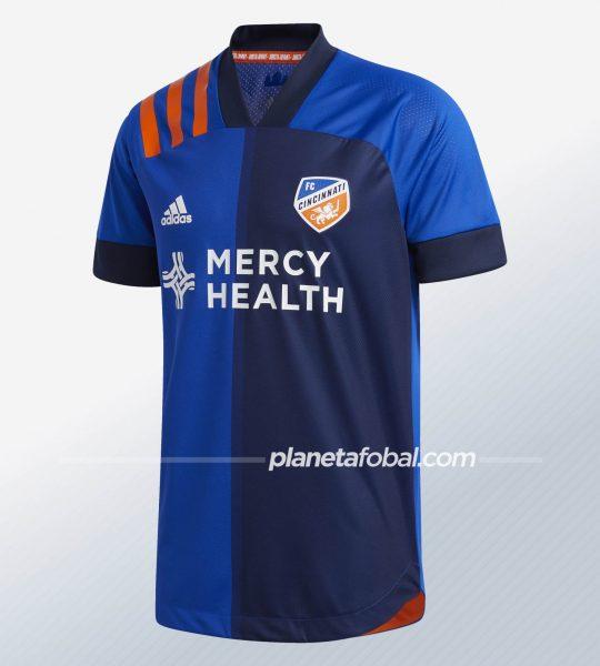 Camiseta titular del FC Cincinnati 2020/21   Imagen Adidas