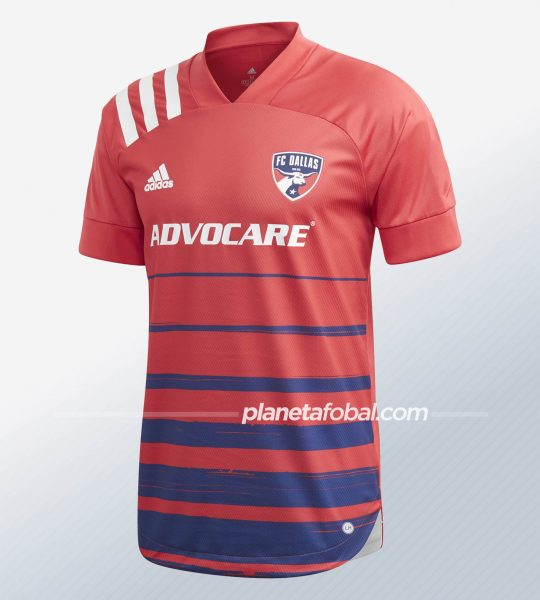 Camiseta titular del FC Dallas 2020/21 | Imagen Adidas